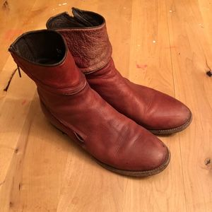 Free People Essential Zipper Ankle Boot Sz 10